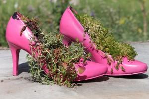 Енергията на пролетта и силата на красивата обувка